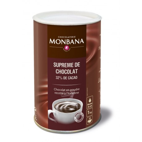 Ciocolata Monbana SUPREME de CHOCOLAT 1kg