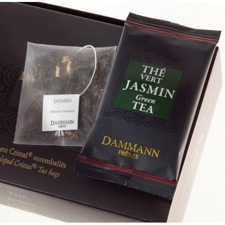 Ceai Dammann VERT de CHINE au JASMIN
