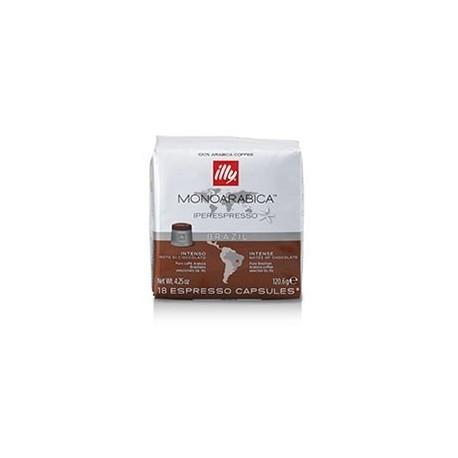 Cafea Illy 18 capsule iperespresso Brazilia cu cofeina