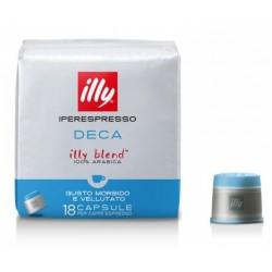 Cafea Illy 18 capsule iperespresso fara cofeina