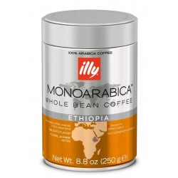 illy Espresso monoarabica ETIOPIA boabe cu cofeina 250gr