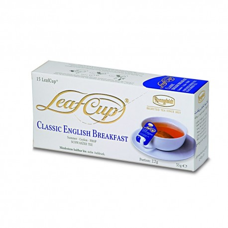Ceai Ronnefeldt LeafCup CLASSIC ENGLISH BREAKFAST