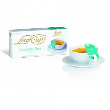 Ceai Ronnefeldt LeafCup REFRESHING MINT cutie